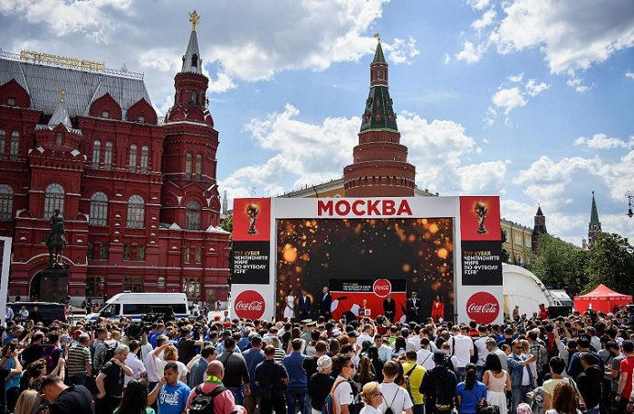 Rusia está lista para albergar su primer Mundial de Futbol de la FIFA. LA PRENSA/AFP / Alexander NEMENOV