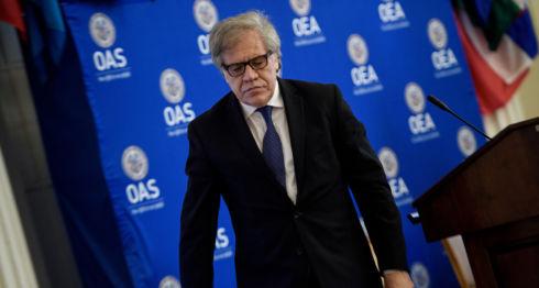 Luis Almagro, Nicaragua, OEA
