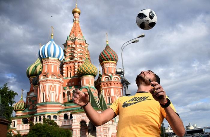 El Mundial Rusia 2018 podría superar las cifras de audiencias de la cita de Brasil 2014. LA PRENSA/AFP / FRANCK FIFE