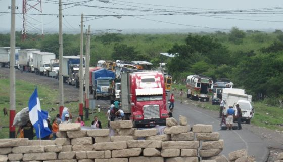 transportistas, Nicaragua, protestas