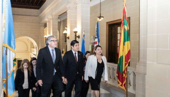Carlos Alvarado, OEA, consejo permanente, migración. Nicaragua