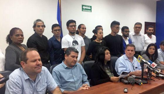 La Alianza Cívica por la Justicia y Democracia está integrada por universitarios, empresarios, campesinos y sociedad civil. LA PRENSA/ LUCYDALIA BACA