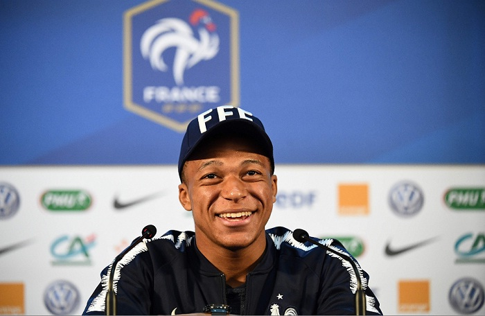Kylian Mbappé será una pieza importante para Francia en el Mundial Rusia 2018. LA PRENSA/AFP