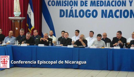 obispos, CEN, Diálogo Nacional, gobierno, Alianza Cívica, CIDH