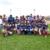 Peloteros Jass Vargas y Sandy Moreno enseñan beisbol a mujeres