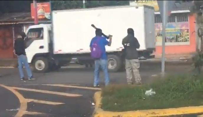Ticuantepe, Masaya, ataque