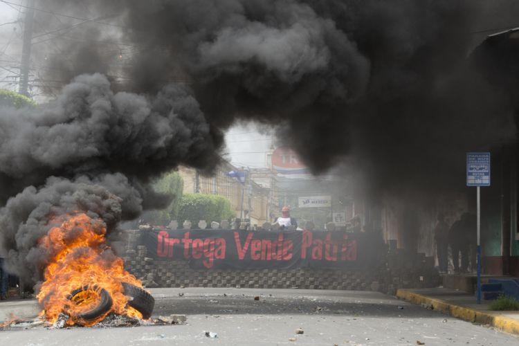 La represión orteguista dejó al menos a seis personas muertas e hirieron a más de 35. LA PRENSA/Manuel Esquivel