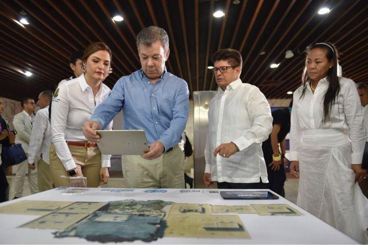 Juan Manuel Santos, Colombia, Nicaragua, OEA