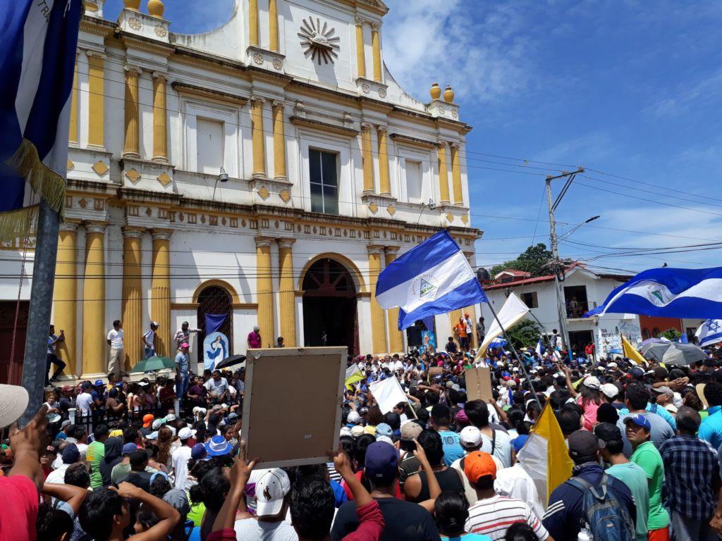 Masaya,obispos, Nicaragua