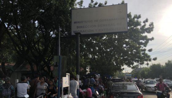 migración y extranjería, protestas, Daniel Ortega