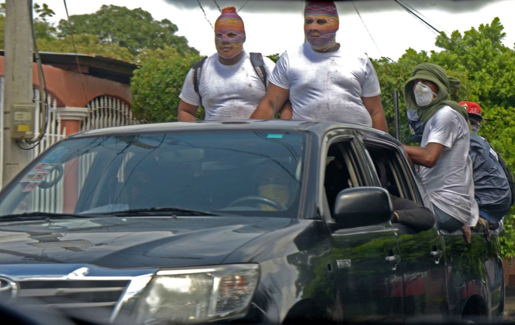 Managua, en uno de los días que amaneció militarizada y bajo ataque de la policía y paramilitares del régimen Ortega Murillo. LA PRENSA/ ROBERTO FONSECA
