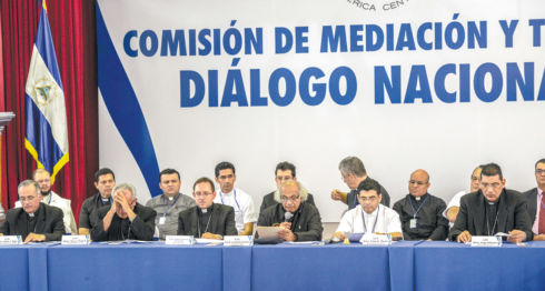Los obispos de la CEN insisten en que el Gobierno y la Policía detengan la represión a los ciudadanos que demandan la renuncia de Daniel Ortega. LA PRENSA/C. VALLE
