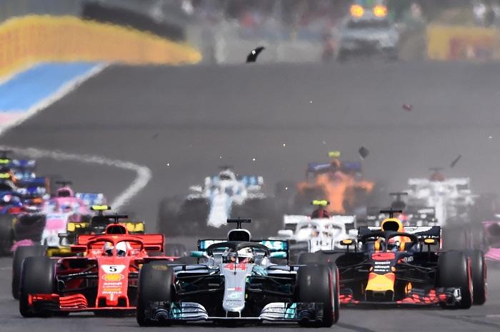 Lewis Hamilton lideró la carrera desde su arranque desde la pole. LA PRENSA/ AFP/ Boris HORVAT