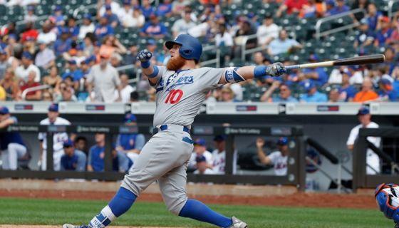 Con su jonrón Justin Turner decidió el partido a favor de los Dodgers sobre los Mets. LA PRENSA/Jim McIsaac/Getty Images/AFP