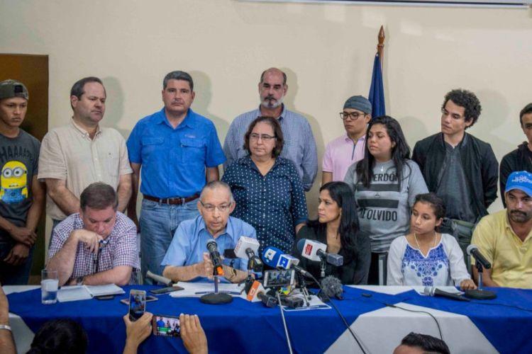 La Alianza Cívica por la Justicia y la Democracia está exigiendo al Gobierno cesar la represión y el adelanto de los comicios generales. LA PRENSA/ CARLOS VALLE