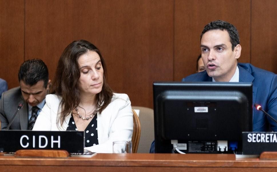 La CIDH presentó su informe final sobre las violaciones a los derechos humanos en Nicaragua ante la OEA. LA PRENSA/ CORTESÍA OEA