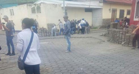 Jinotega, barricadas