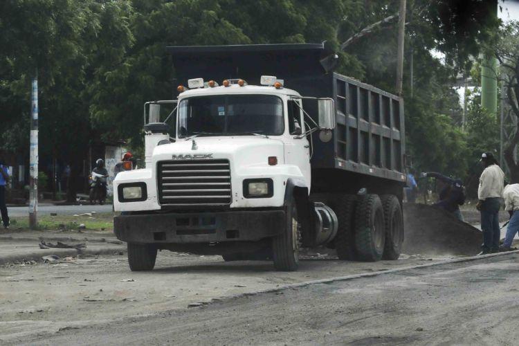 Barricadas en Managua