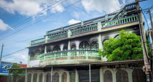 La casa fue quemada por paramilitares y policías en el barrio Carlos Marx de Managua según los sobrevivientes y vecinos. LA PRENSA/ CARLOS VALLE