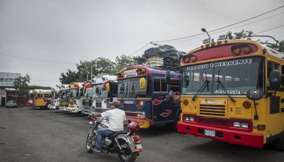 Buses de Nicaragua