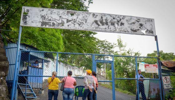 En la Dirección de Auxilio Judicial, mejor conocida como El Chipote, están apareciendo los secuestrados por paramilitares armados del Gobierno