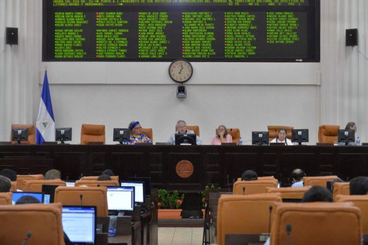 Los diputados del PLC votaron en contra de la entrada de militares a Nicaragua en los próximos meses, por considerarlo inoportuno. LA PRENSA/ JADER FLORES