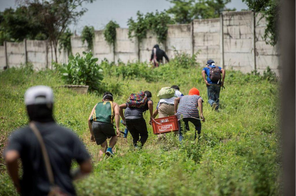 La propiedad del Grupo Coen fue liberada por estudiantes de la UNAN Managua tras la Marcha de las Flores. LA PRENSA/ÓSCAR NAVARRETE