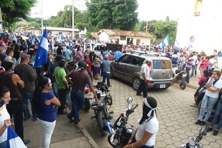 Nueva Segovia, protestas, Nicaragua