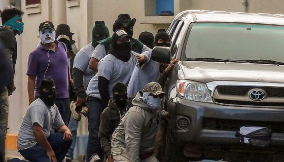 cidh, represión, Nicaragua, turbas, paramilitares