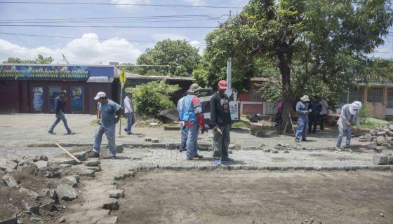 Protesta ciudadana en Nicaragua