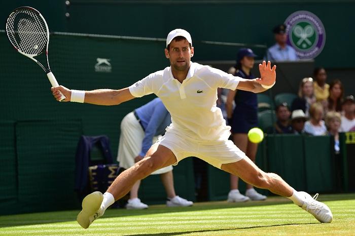 El serbio Novak Djokovic será el rival de Rafa Nadal en las semifinales del Abierto Británico de Tenis. LA PRENSA/AFP / Glyn KIRK