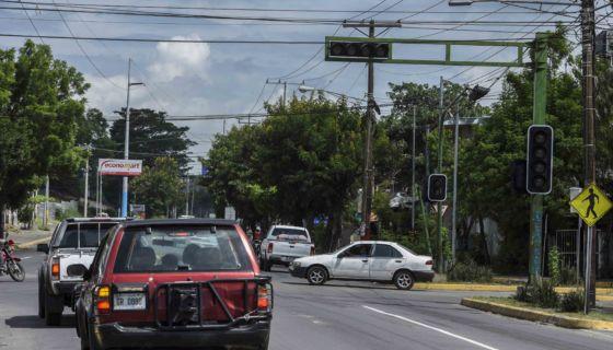 Semáforos inteligente, Managua