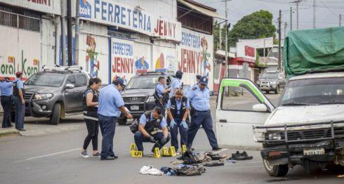 Operativo policial en Managua