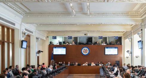 Consejo Permanente de la Organización de Estados Americanos (OEA). LA PRENSA/ CORTESÍA