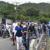 Decenas de personas participan en caravana cívica en Jinotega