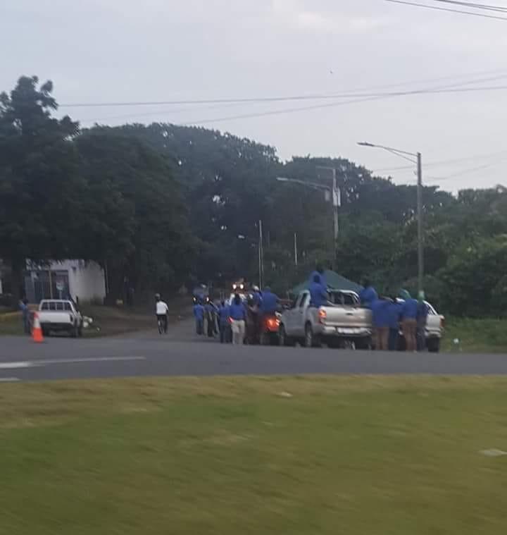 Masaya, protestas, Nicaragua