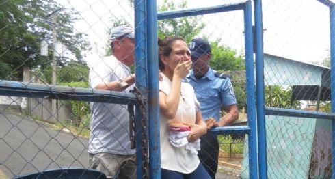 Blanca Cajina, protestas, Nicaragua