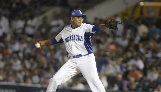 Wilton López abrirá esta noche por Nicaragua ante Colombia, en el primer partido del equipo nacional en los Juegos Centroamericanos y del Caribe de Barranquilla 2018. LA PRENSA/MANUEL ESQUIVEL
