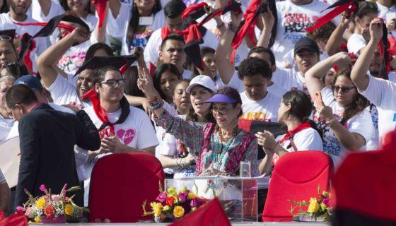 Rosario Murillo, protesta, amenaza, cárcel, manifestantes