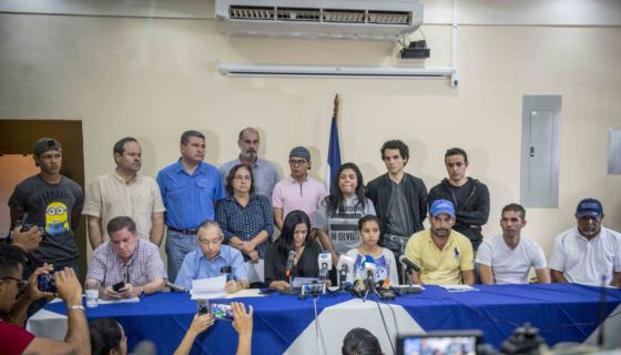 Alianza Cívica, obispos, Conferencia Episcopal de Nicaragua, Diálogo Nacional, mediadores y testigos