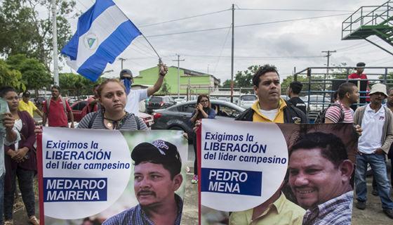 Medardo Mairena, Nicaragua, protestas, protestas en Nicaragua