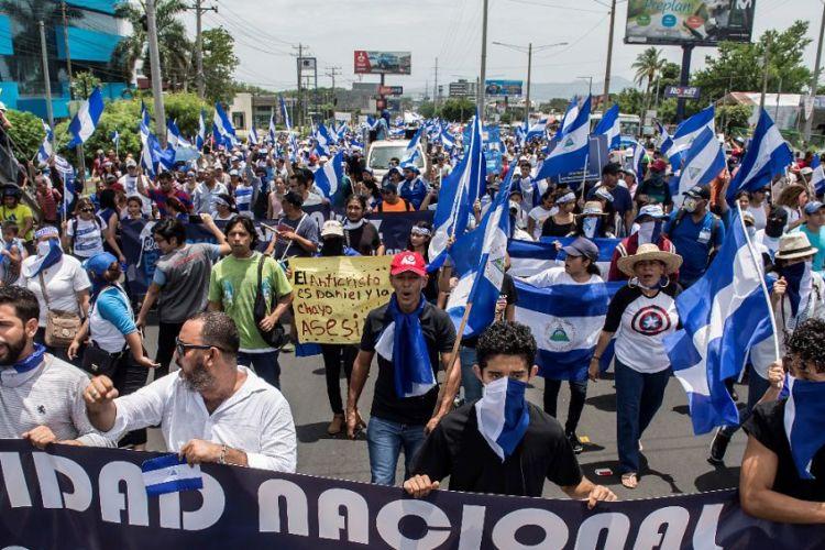 protestas, Nicaragua, Daniel Ortega