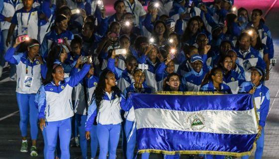 Nicaragua ha sumado solo dos medallas de bronce en los Juegos Centroamericanos y del Caribe de Barranquilla 2018. LA PRENSA/AFP / LUIS ACOSTA