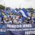 Ciudadanos no dejan de marchar en Managua contra Ortega y Murillo