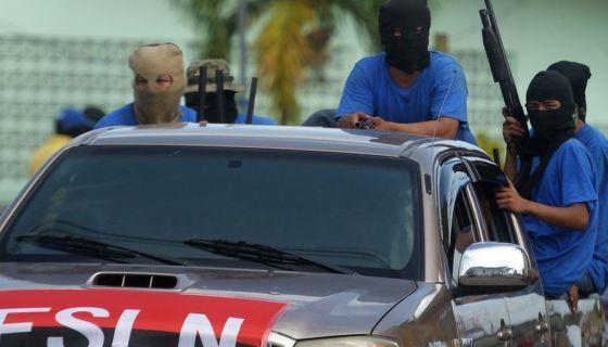 paramilitares, nICARAGUA, PROTESTAS