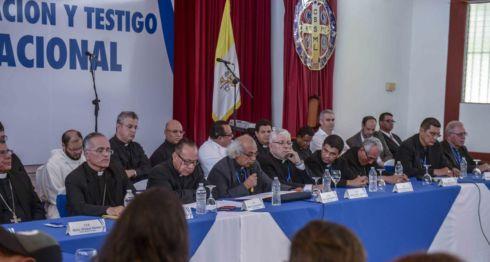 Diálogo Nacional, obispos emplazan, Daniel Ortega, mediadores, represión, protesta