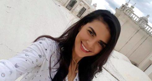 Raynéia Gabrielle Lima, la estudiante brasileña asesinada por paramilitares en Managua. LA PRENSA/ TOMADA DE FACEBOOK