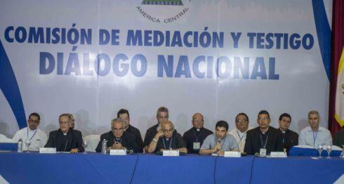 obispos, Diálogo Nacional, Gobierno, Vaticano, Carlos Tünnerman, #SOSNicaragua