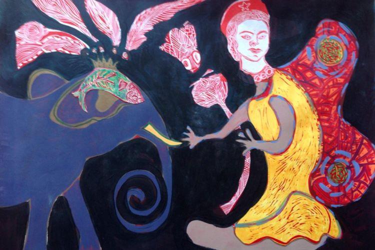 Arte Retrospectivo De Alicia Zamora Alude Al Surrealismo Lo