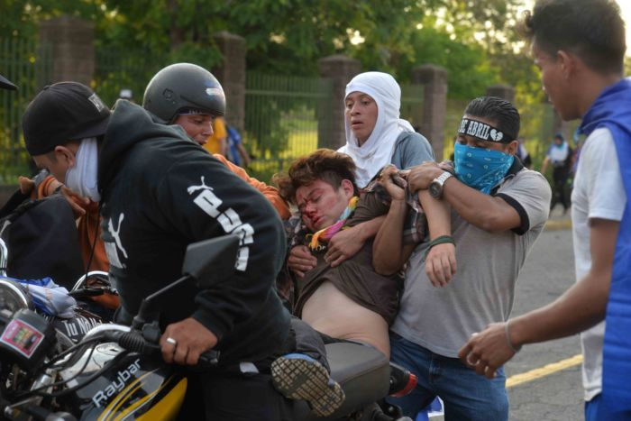 Desde el pasado 18 de abril, la represión orteguista ha dejado más de 300 personas asesinadas. LA PRENSA/ JADER FLORES